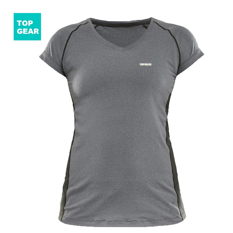 Women's running t-shirt day or night use