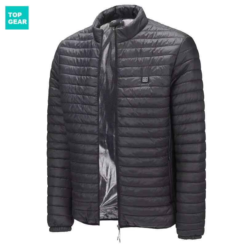 Men's heating jacket -- HOT!
